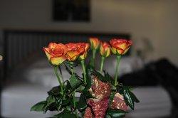 Flowers as part of the honeymoon package