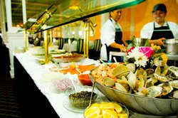The Grand Hotel Luncheon Buffet