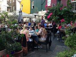 Enjoying Summer Evenings at Amici Courtyard