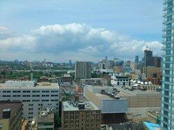 Northern view from 18th fl room, Hyatt Regency - Toronto Ontario