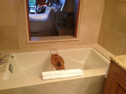 Bathtub in Bungalow Suite