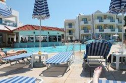 Pool and pool bar.