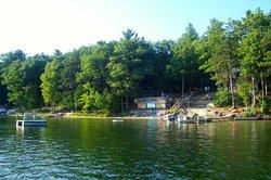 Beach, swimming, kayaking, row boat