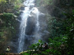 Waterfall la Piedra del Indio