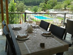Enjoy a romantic lunch or dinner at the restaurant Toriza near the pool