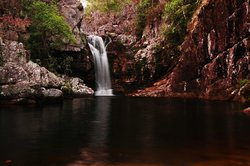 Anjos and Arcanjos waterfall