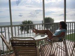 Enjoying my view....  :)
