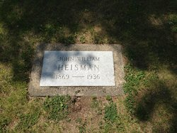 John Heisman's Grave of Heisman Trophy fame