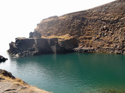 Blue lagoon abereiddy