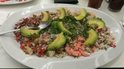 Ceviche at De Costa a Costa Mexico City
