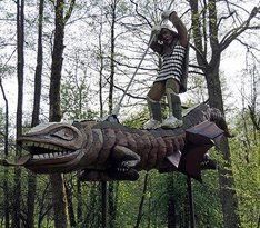 Antanas Cesnulis Sculpture Park