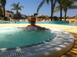 Poolside Jaccuzzi