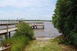 Roberta Drive fishing dock