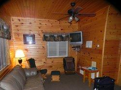 Family room w/satellite TV