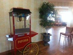 Popcorn Nightly in Lobby