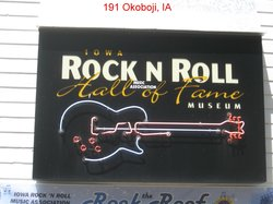 Iowa Rock N Roll Hall of Fame Museum