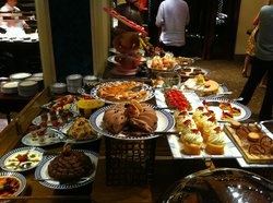 Desserts at the Rotisserie