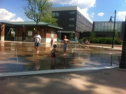 Lawrence Plaza Ice Rink and Splash Park