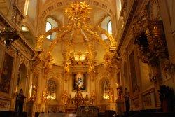 Splendid church in Quebec City