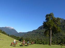 Riding In Patagonia