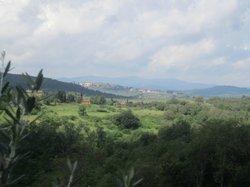 Blick über Bucine Arezzo