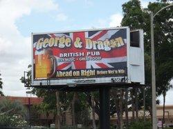 Orlando George and Dragon
