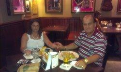 Having a good time at Hard Rock Cafe Malta