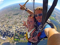 Skydive Perth City