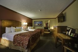 Spacious and comfortable guest rooms with 2 queen beds