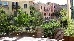 Palm Gallery terrace