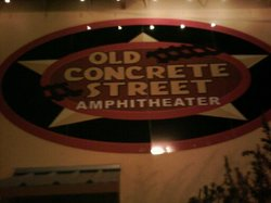 Old Concrete Street Amphitheater