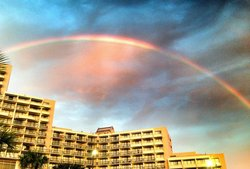 There WAS a nixe rainbow!