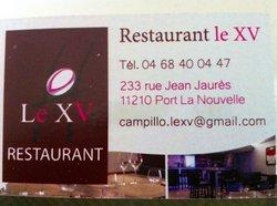 Restaurant le XV