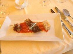 Adlerfisch mit Cuscus