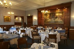 The Oak Room Restaurant at Moor Hall Hotel & Spa