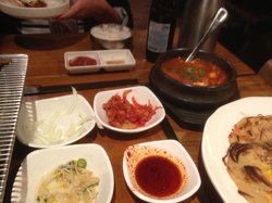 Wooga korean restaurant