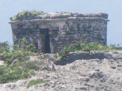 Mayan Ruins on the beach