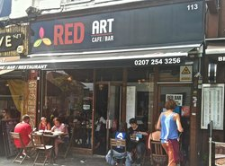 Red Art Cafe Bar