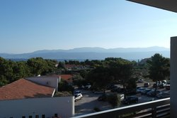 View from the balcony in Hotel Amor