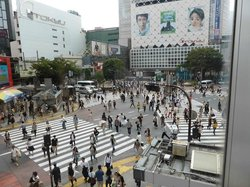 澀谷站前 十字路口