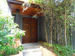 Entrance to our villa