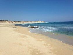 Beach up the East Cape