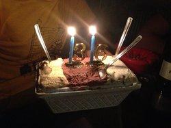 Crema catalana bacio stracciatella x il mio compleanno