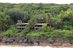 Matavai motel from the sea