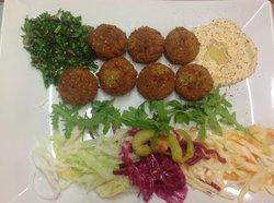 Falafel and Kebab