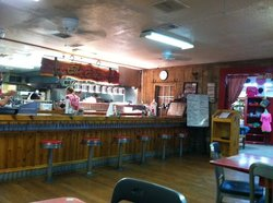 A bit of country, the main dining hall, they have the side porch and the back room.