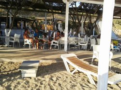 Tsigouri beach bar