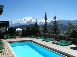 Face au Mont Blanc