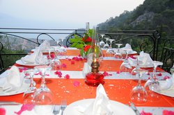 Stunning views and excellent preparations and service.