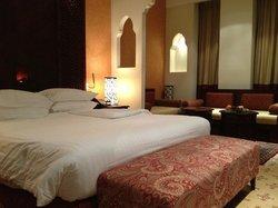 Business class room at Radisson Blu Hotel Doha in Qatar
